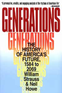 Strauss and Howe developed a typology that  envisions generations as social, rather than merely demographic units.